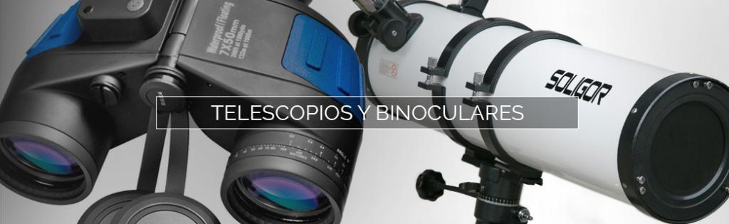 Binoculares o prismáticos