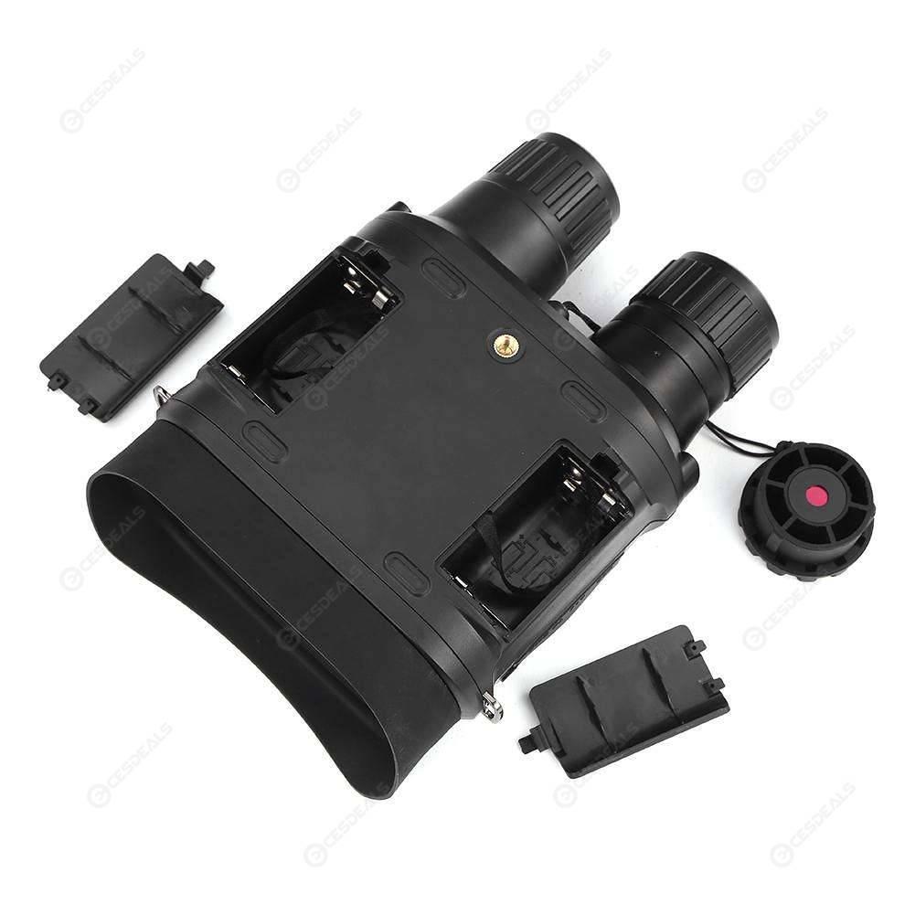 binoculares con baterías