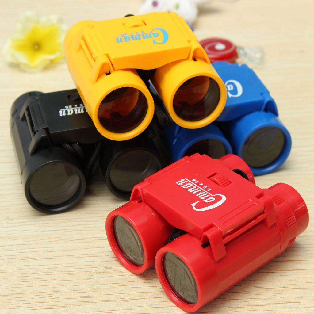 binoculares para niños
