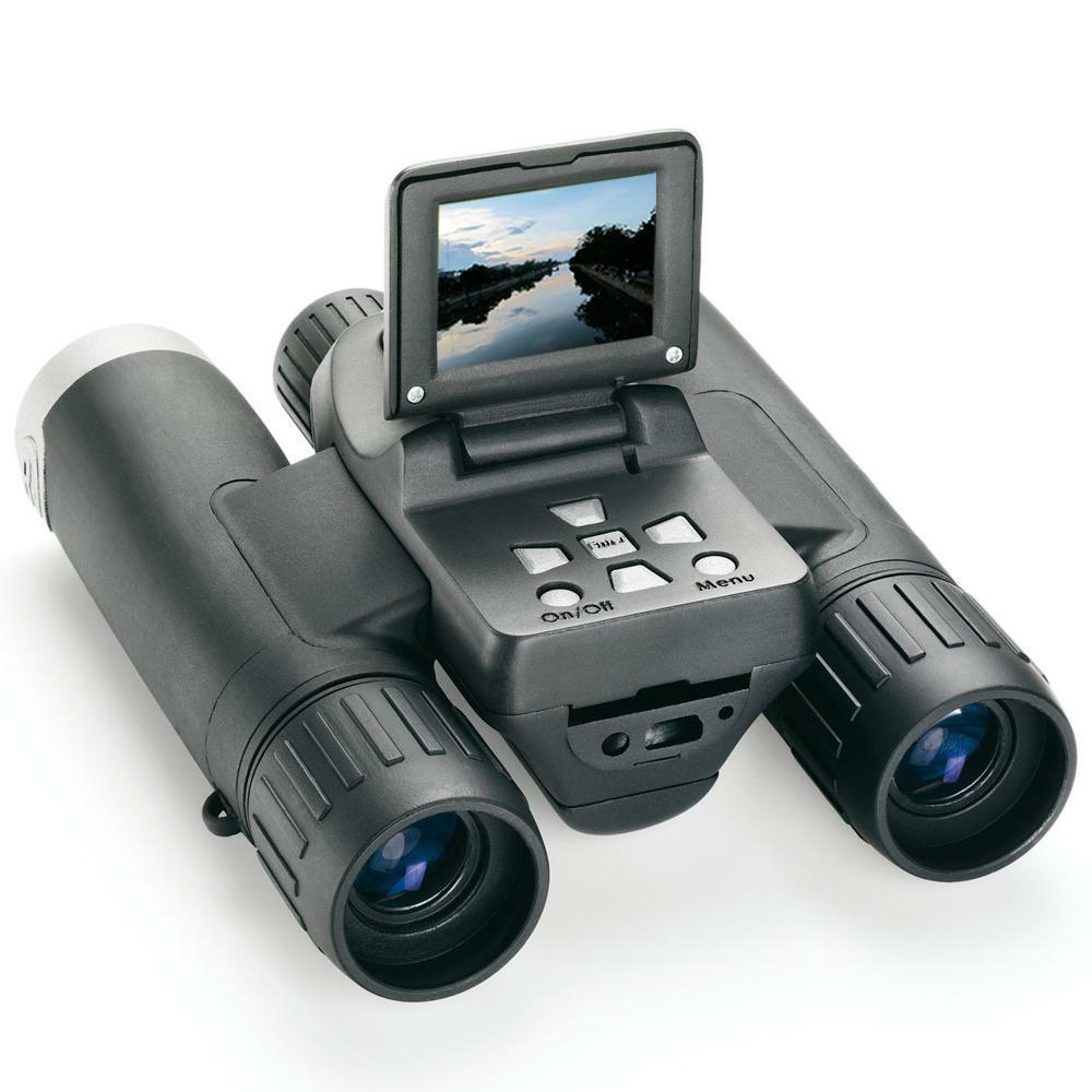 Prismáticos con cámara integrada