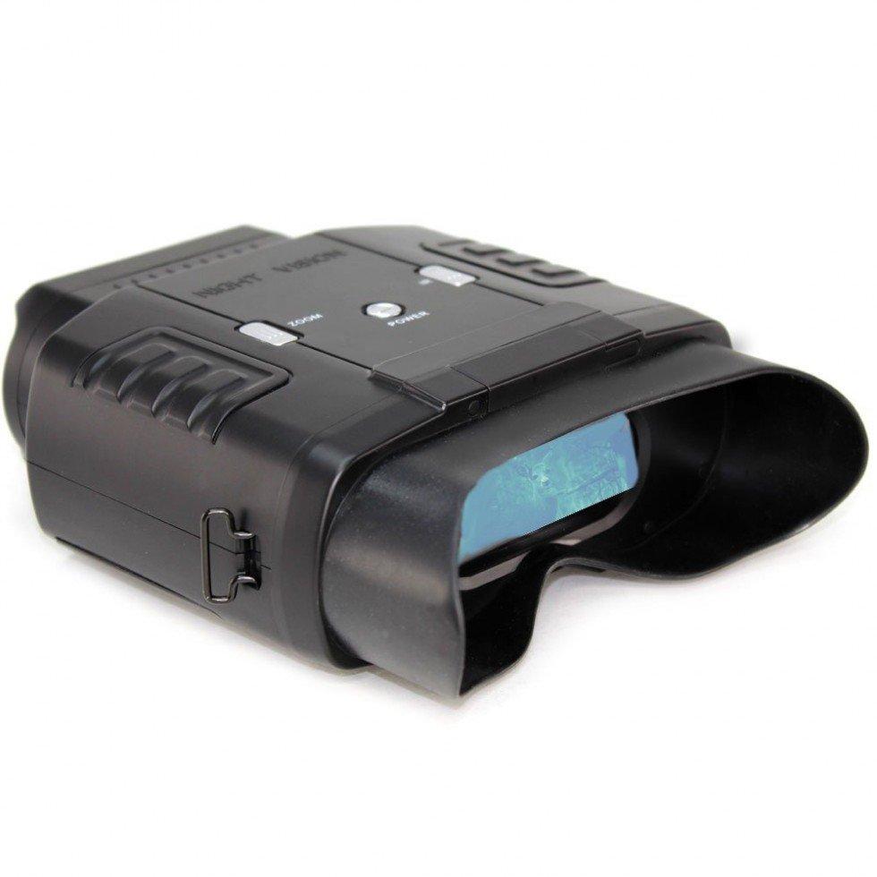 ¿Cómo funciona un prismático de visión nocturna?